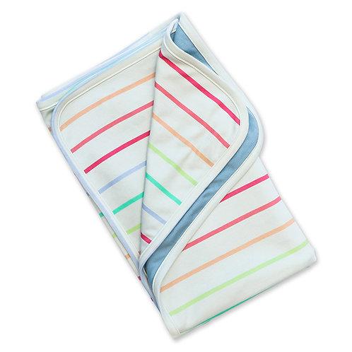 Manta Balún pequeña 1x0,8mt - Lineas arcoiris