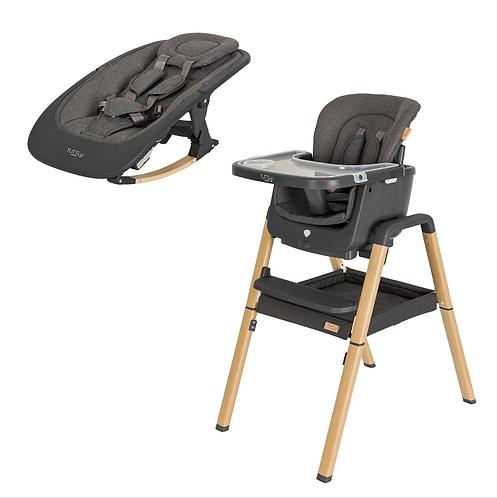 Preventa Set NOVA - silla+mecedora GRAFITO (entrega agosto 2021)