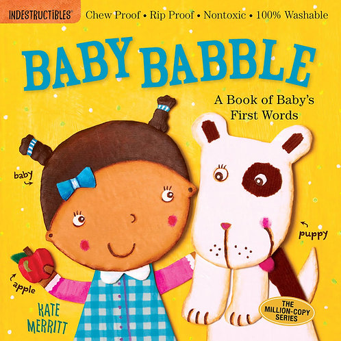 Libro Baby Babble- Indestructibles