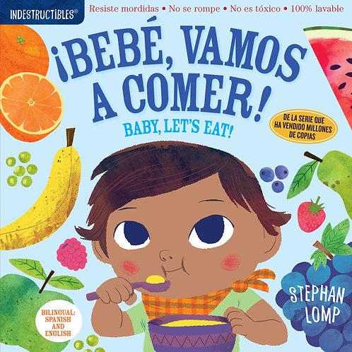 Libro Bebé vamos a comer - Indestructibles