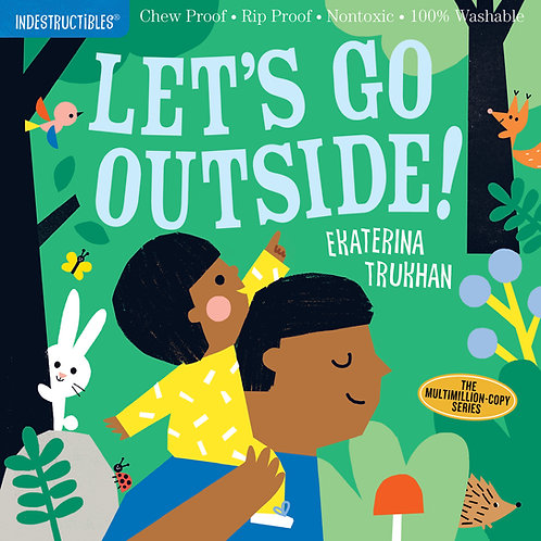 Libro Lets go outside - Indestructibles