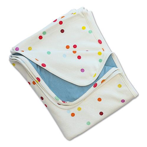 Manta Balún pequeña 1x0,8mt - círculos de colores