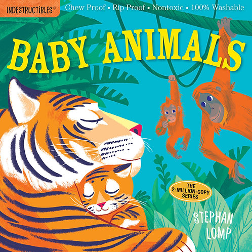 Libro Baby animals- Indestructibles
