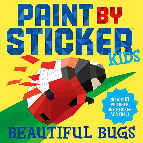 Bichos - Libro de pinta con stickers
