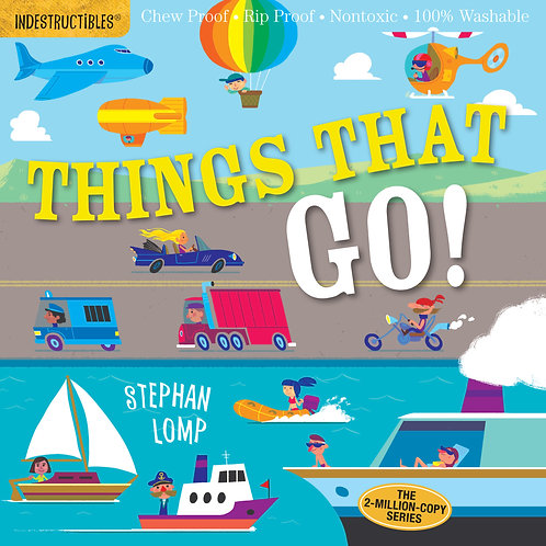 Libro Things that go - Indestructibles