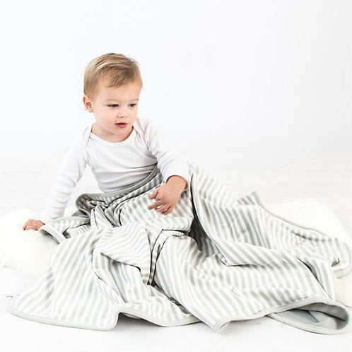 Manta bebés de lana merino. 1,02mtx0,8mt. Gray