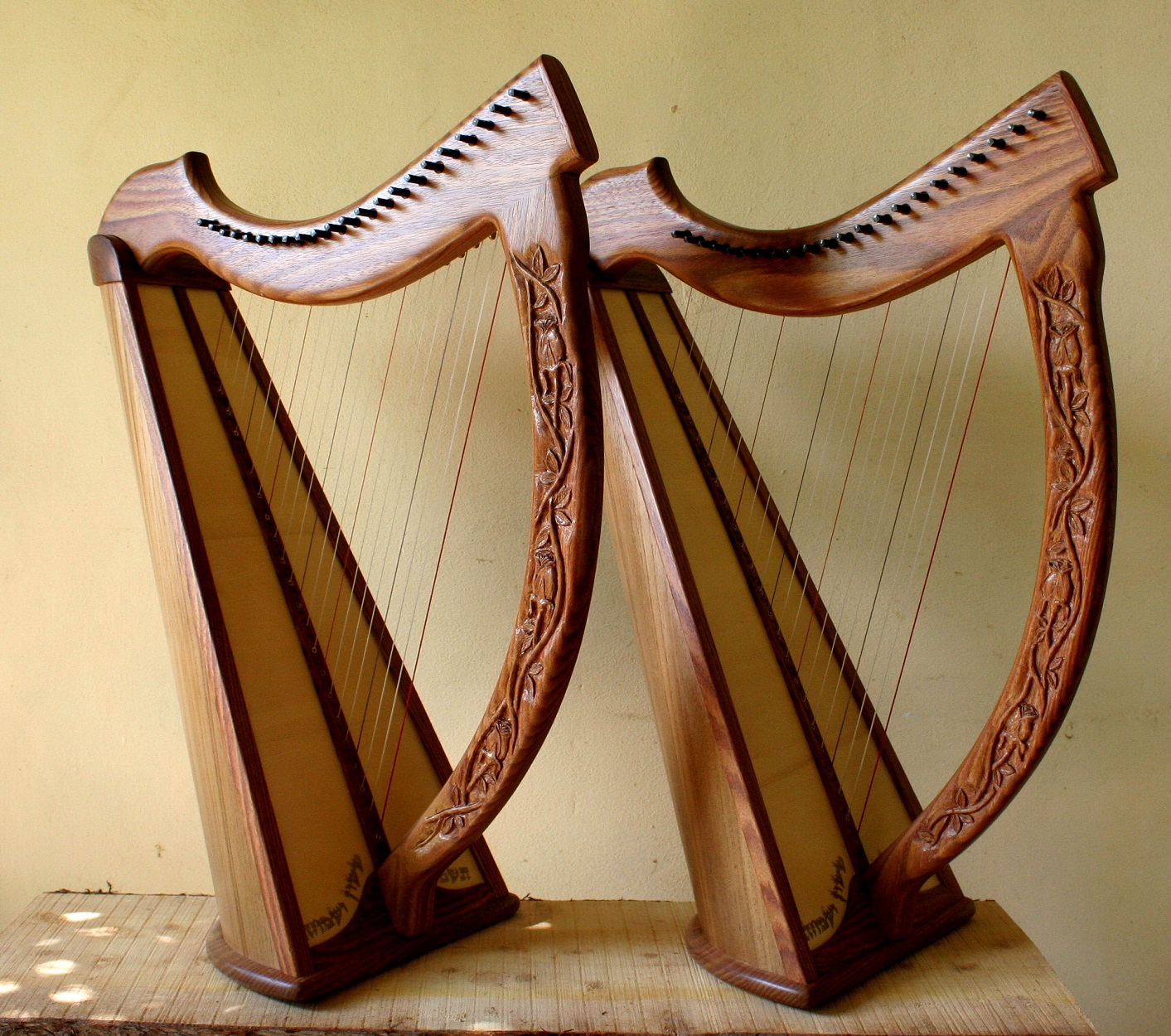 Twin Atara Nevel Harps