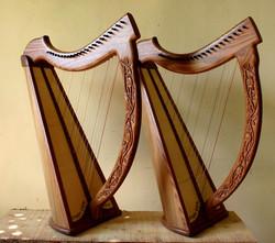 Twin Atara Nevel Harps