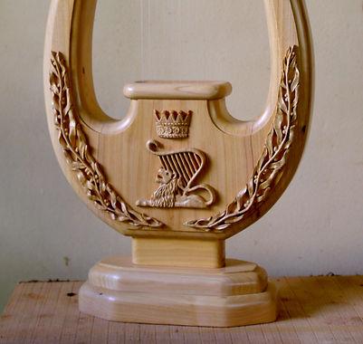 Israeli Cypress Wood (Logo Lion, Olive B