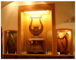 Kinnor David Harp Display