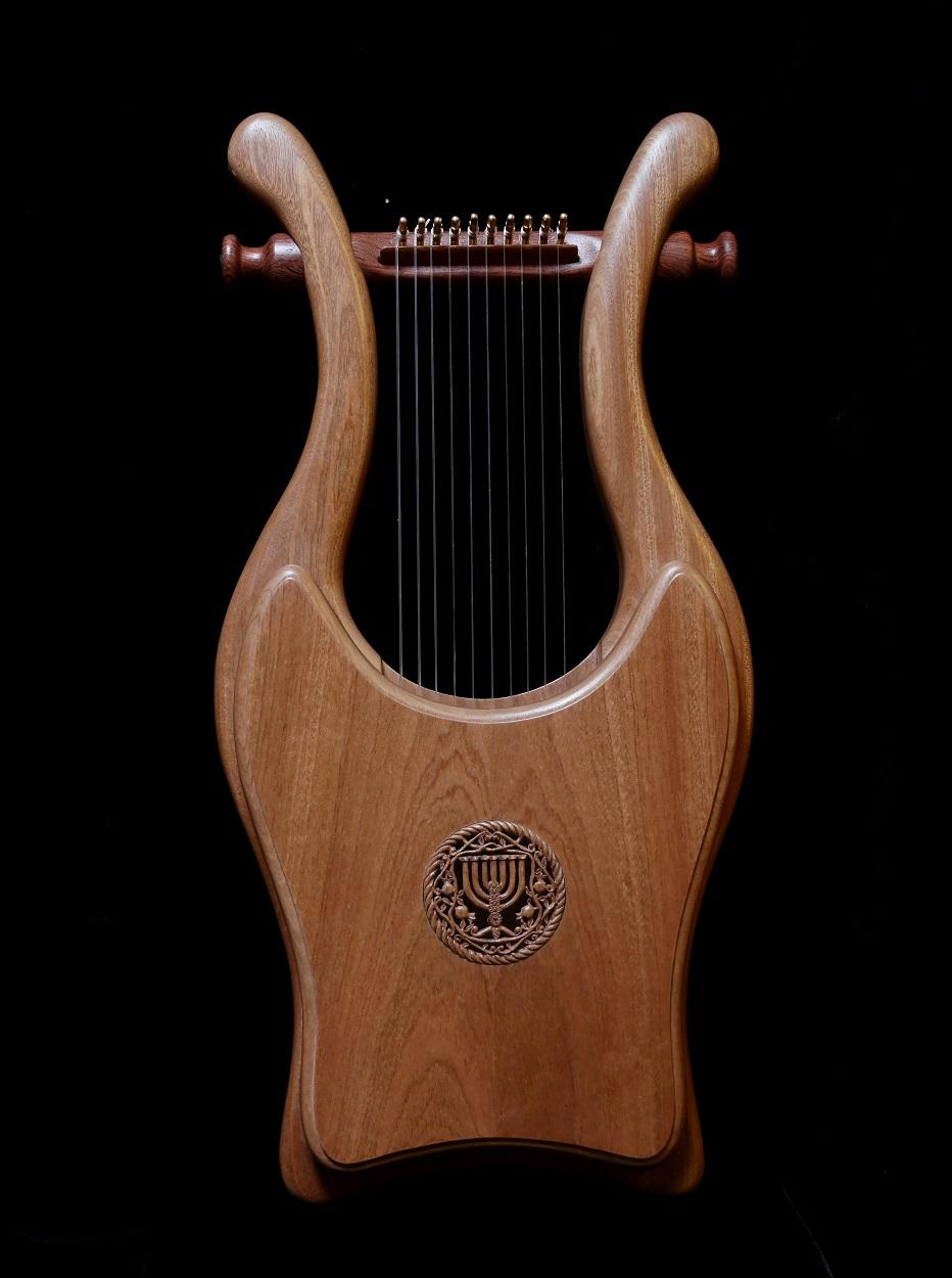 Elijah Harp Donation