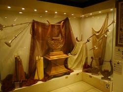Temple Institute Harp Display