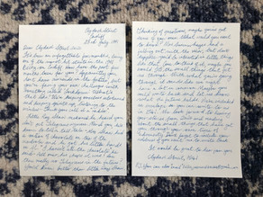 Letters from 1941