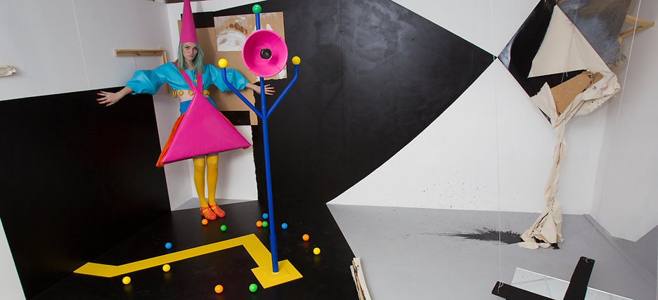 Art installation Aequabilitum sound and video art