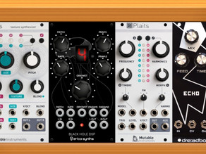 Checking the Eurorack modules fit