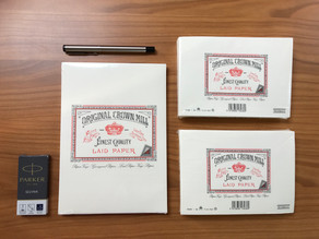Letter Writing Materials