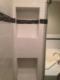 Master Shower After/Nook Built Out