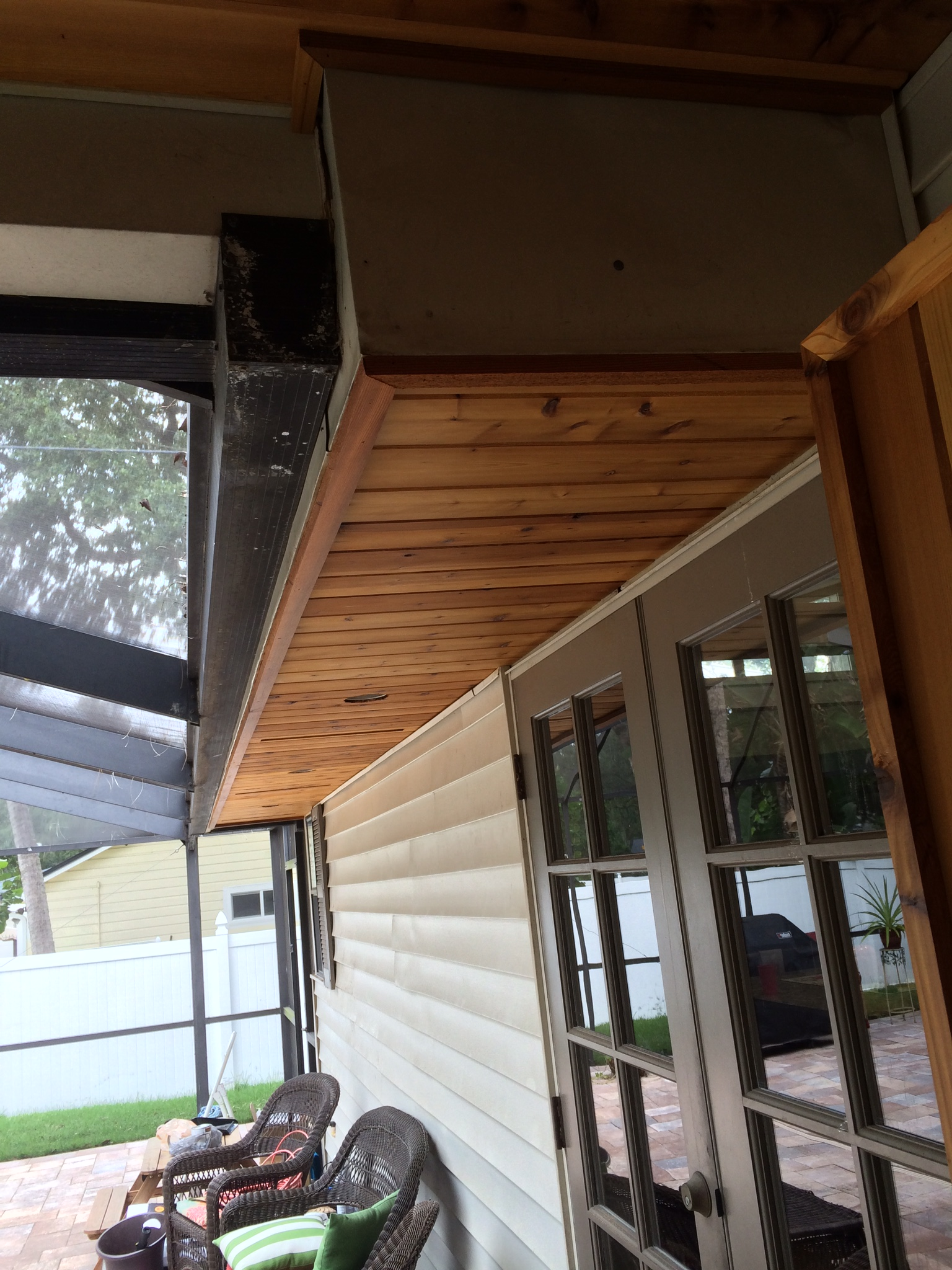 Vented Cedar Tongue/Groove After