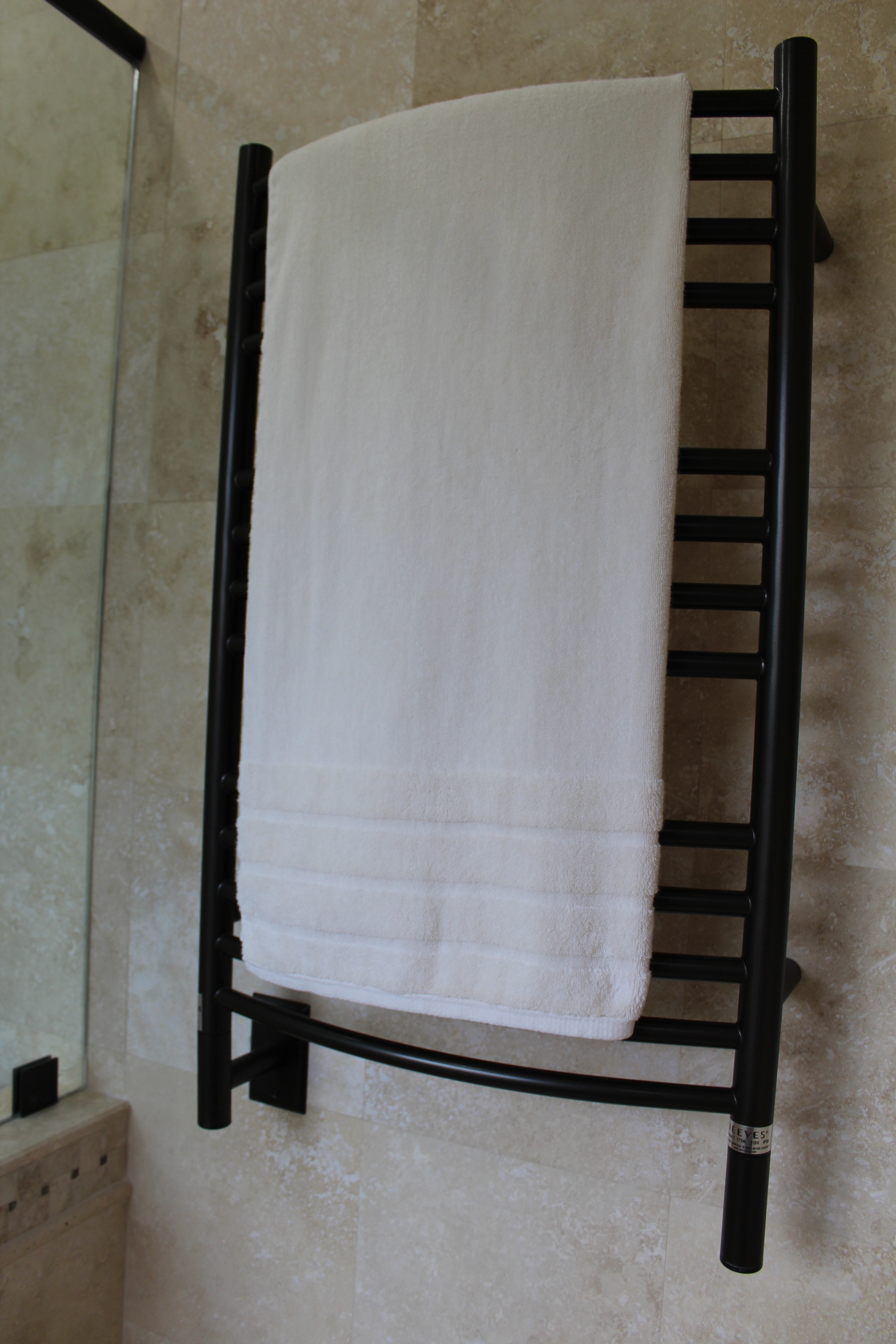 New towel warmer