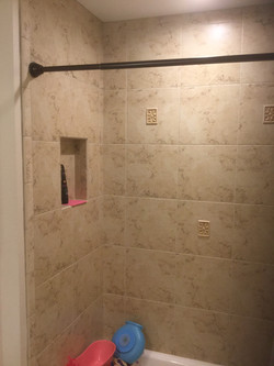 Shower Tile After