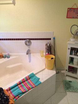 Master Tub Before