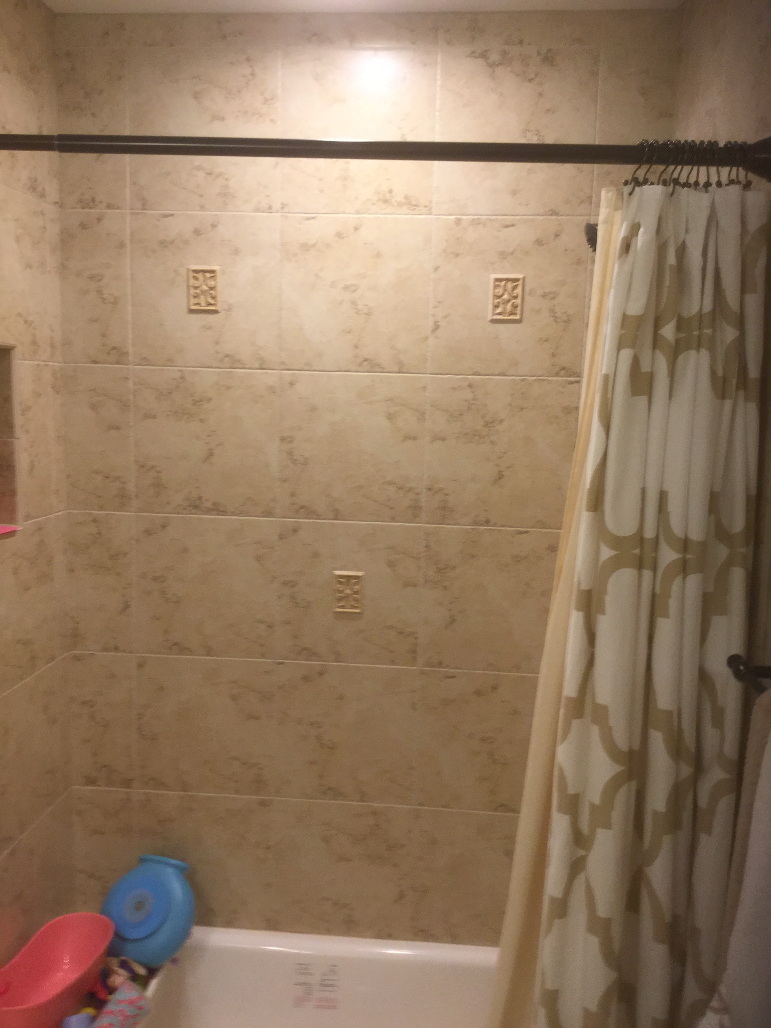 Shower Wall After