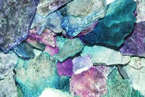 "Moonlight Moon Rocks-""Painted""-Natural Mica"