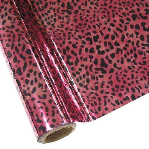 Leopard - Pink Foil