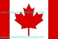 Canadian Flag Flat