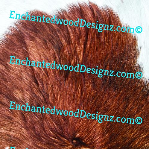 Brown Cowhide 10