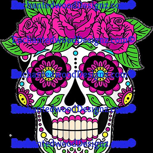Sugar Skull Floral beauty