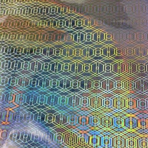Foil -  Hexagon - Silver