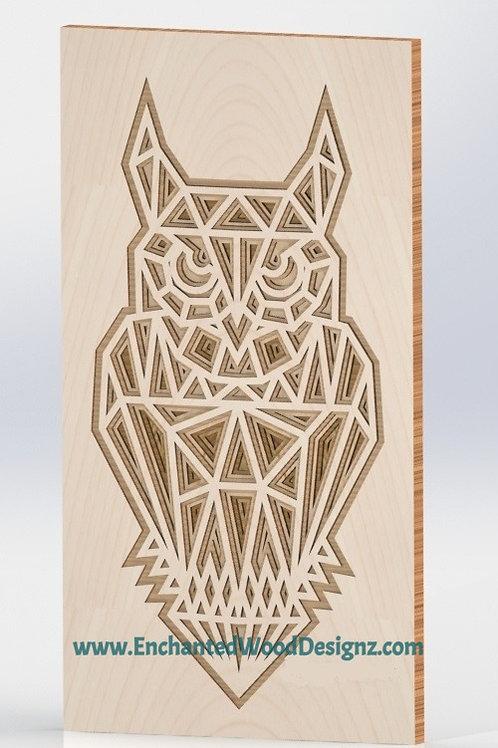 Owl layered-4 layers