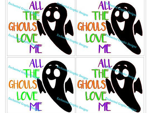 Kids - All the Ghouls Love Me - Set of 4