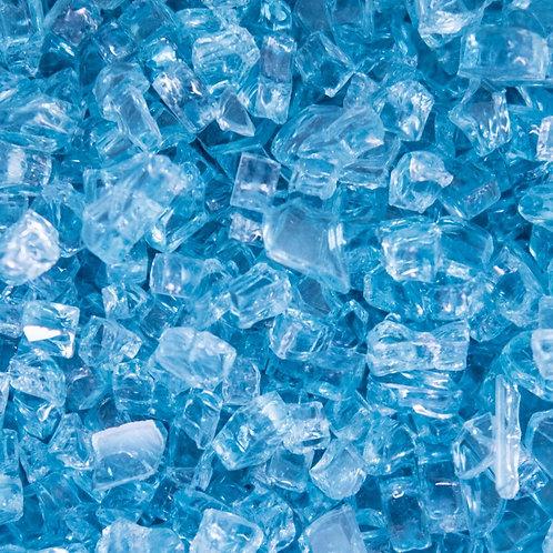 1/4 inch - Polar Blue Glass- Non reflective