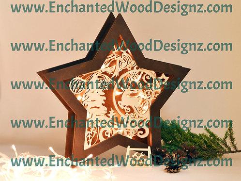 Deer Star Lamps -3 different designz