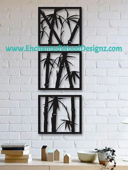 Palm Tree Wall Art- Mixed media