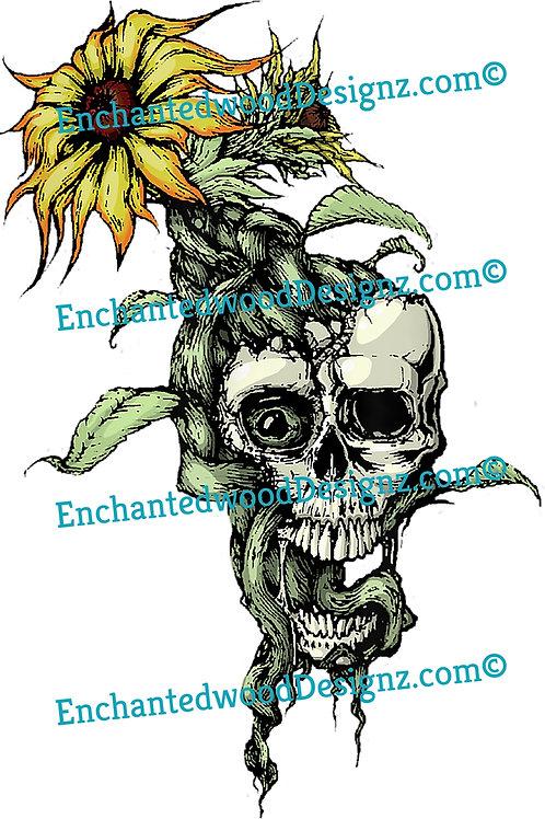 Sunny Disposition Skull