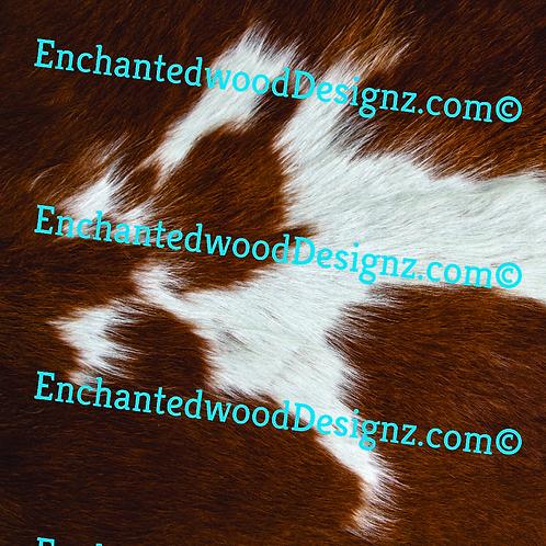 Brown Cowhide 8