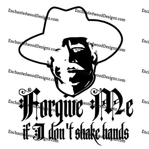 Forgive me If I don't shake hands-Huckleberry