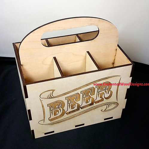 6 Pack Beer Holder-Personalized DIY KIT