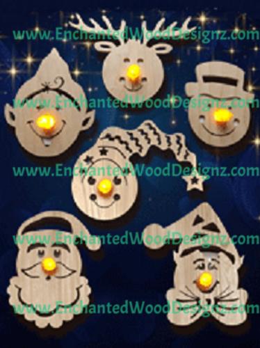 Christmas Tea-light Ornaments collection