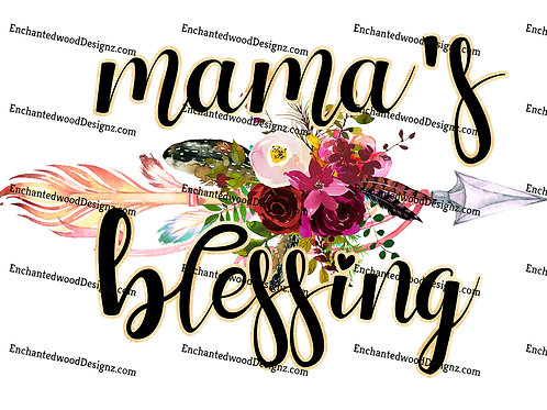 Mama's Blessing- Kids cup