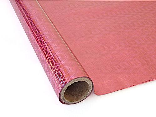 Hexagon Pink Foil