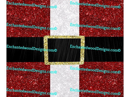 Santa Coat Christmas 12x12 Wrap