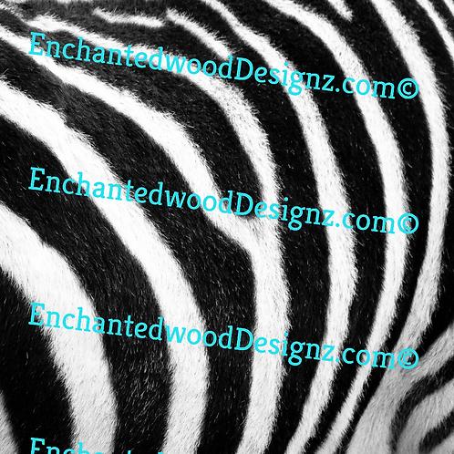 Animal Skin/Fur Zebra