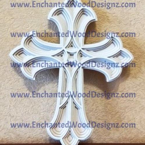 Layered Cross 3