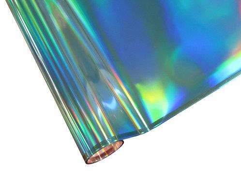 Foil -Blue Hologram - Rainbow Foil