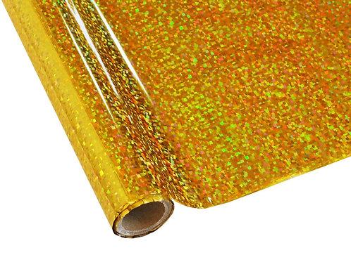 Foil - Cubism Gold - Hologram Foil