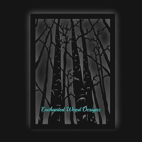 Birch Trees Wall art